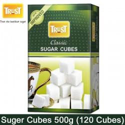 Trust Classic Sugar Cubes 500g, 120 Cubes 500 Gm Pack