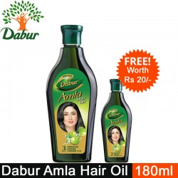 Dabur Amla Hair Oil, 180m...